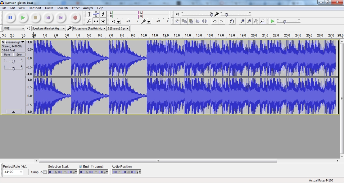 Improving Your Voice with Audacity