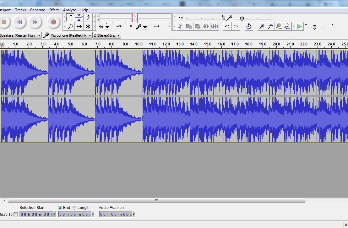Improving Your Voice withAudacity