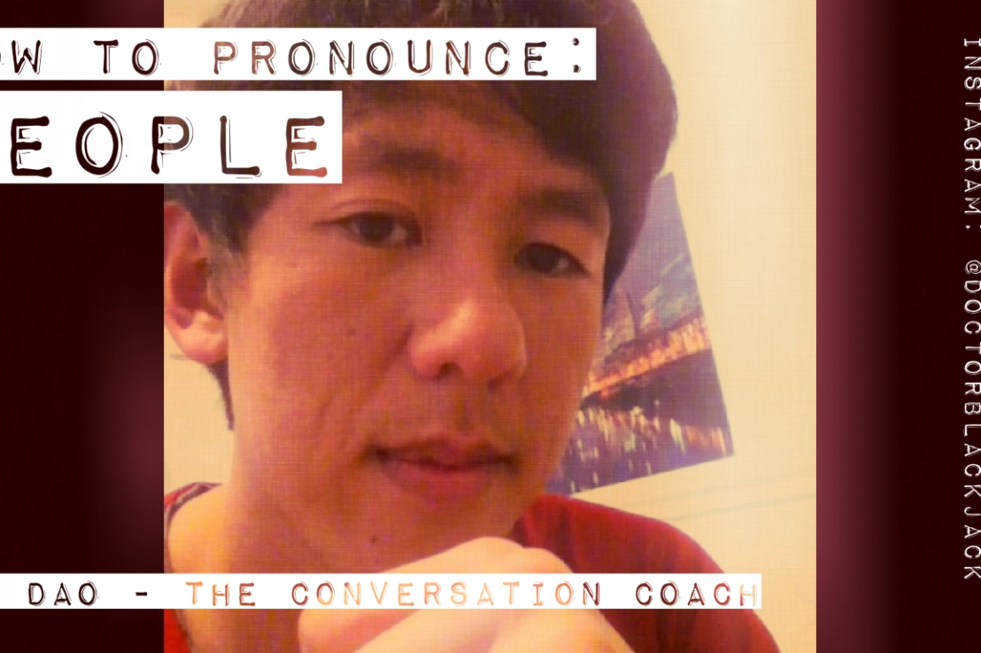 "How to Pronounce ""People"""