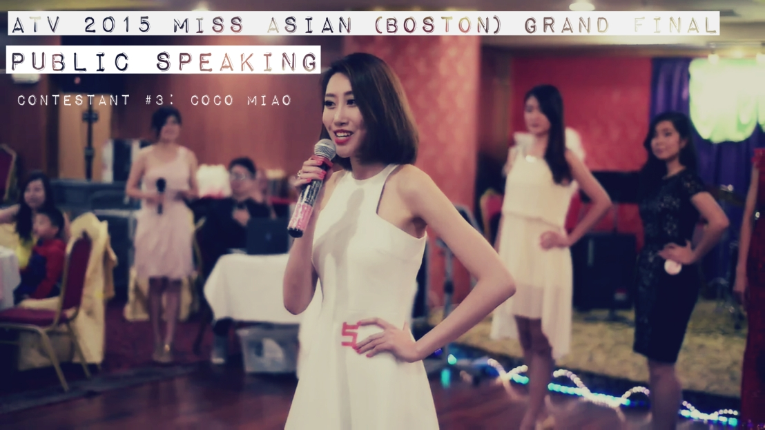 2015 ATV Miss Asia Pageant Boston