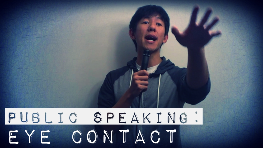 Public Speaking: Eye Contact