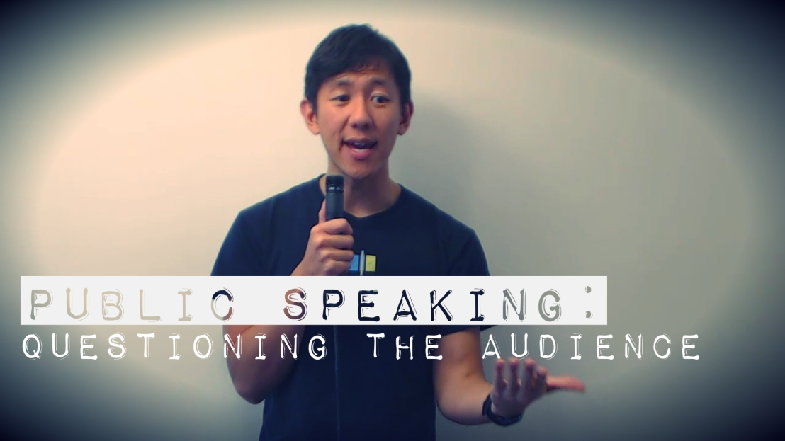 Public Speaking: Questioning the Audience