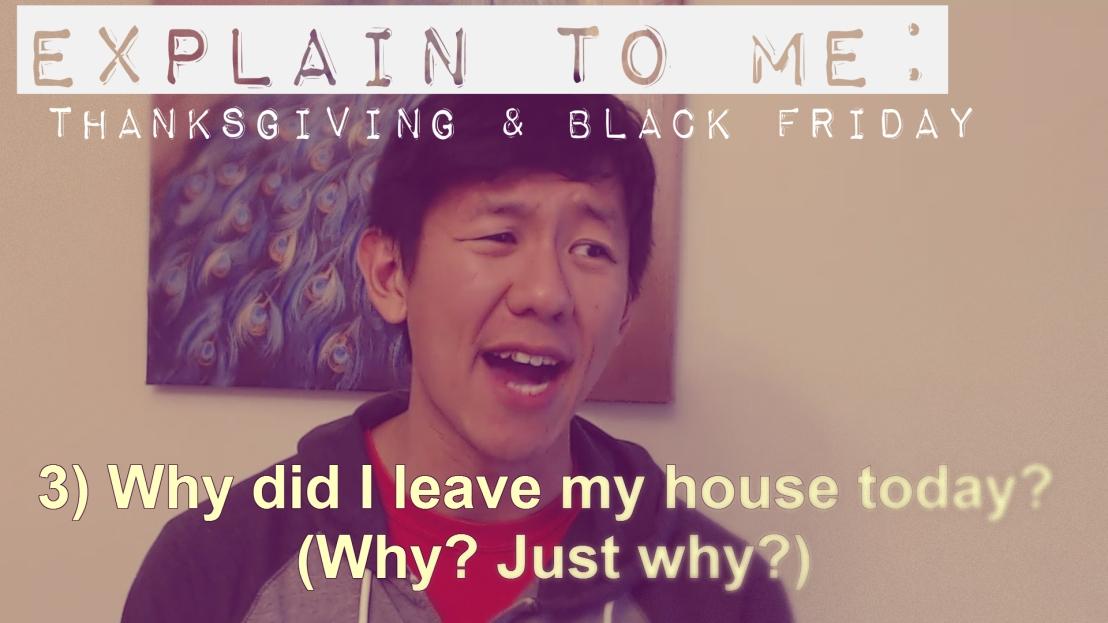 Explain to Me: Thanksgiving & BlackFriday