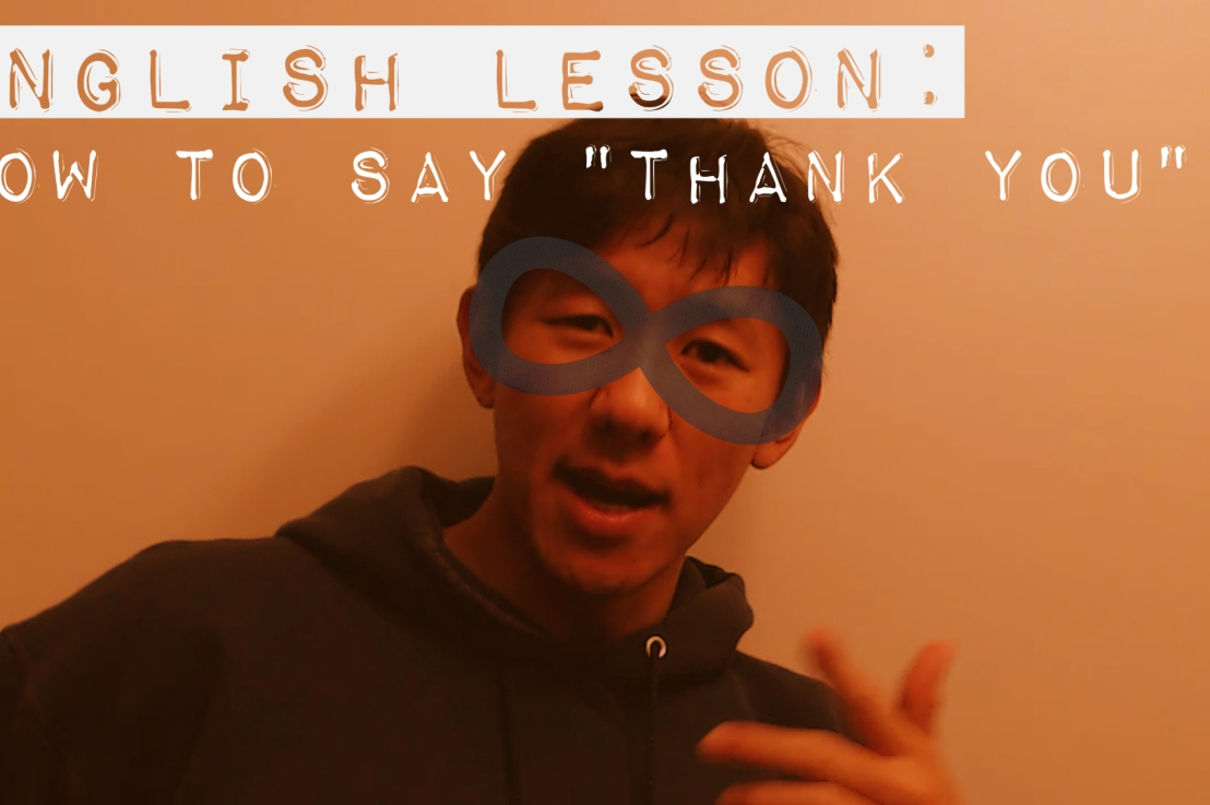 "English Lesson: How to say ""Thank You"""