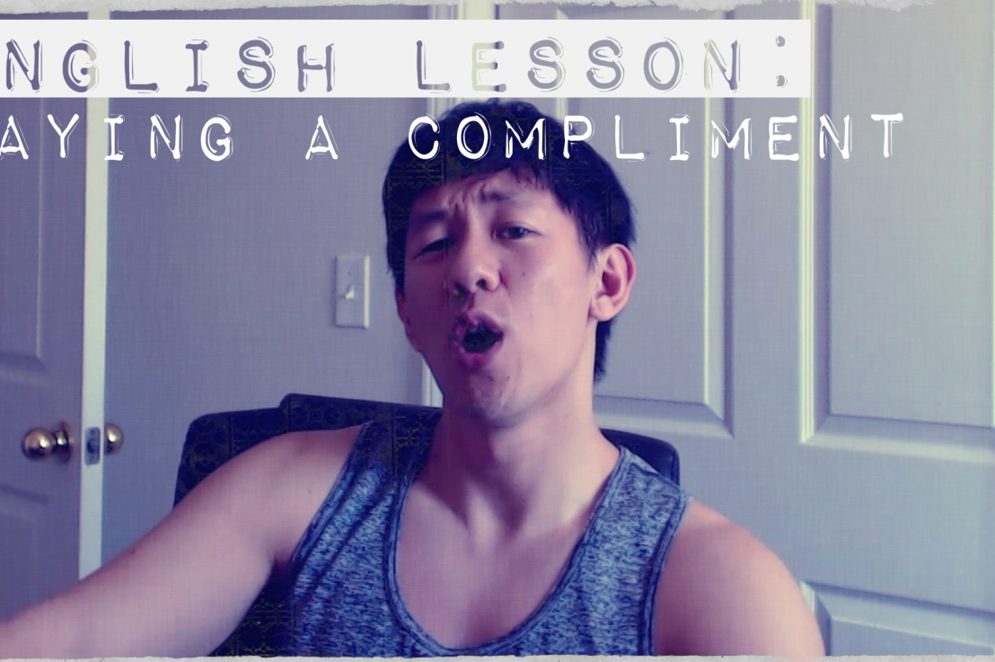 English Lesson: Paying a Compliment